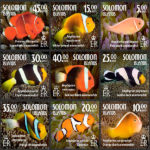 Anemonefish Photographs Feature In Solomon Islands Postage Stamp Collection