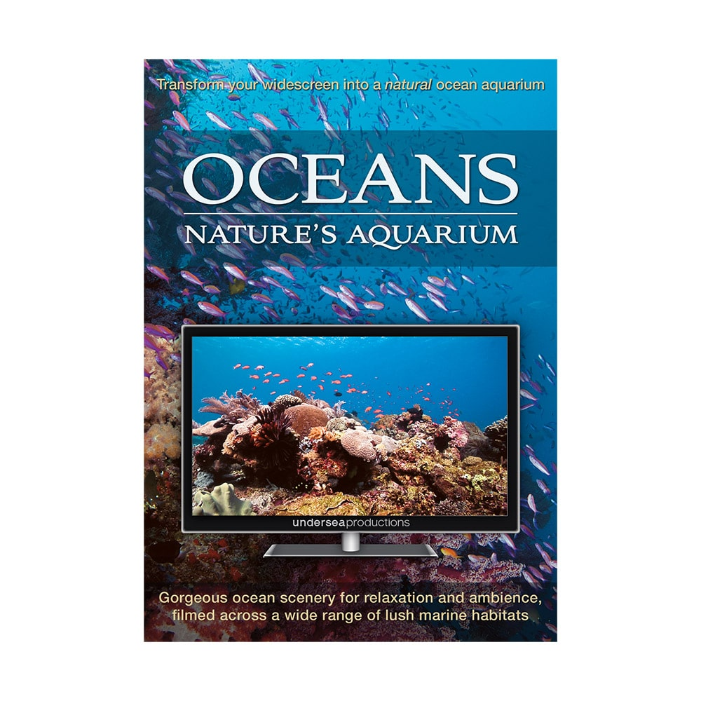Oceans: Nature's Aquarium DVD. Underwater video for relaxation and ambiance.
