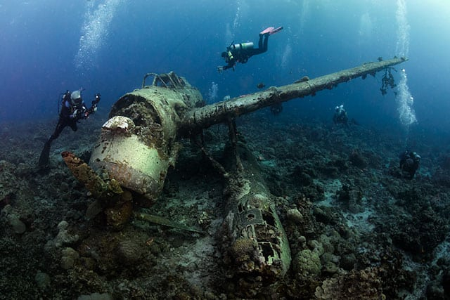 Group dive expeditions to the best diving locations
