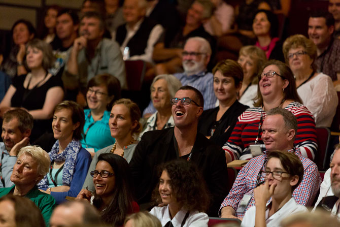 The audience at TEDx Noosa