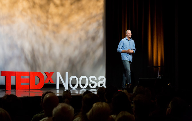 Josh Jensen speaker at TEDx Noosa