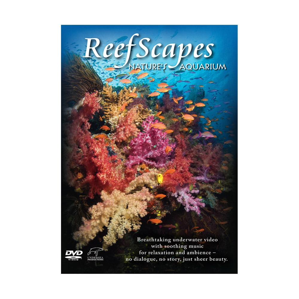Reefscapes: The World's Most Breathtaking Underwater Scenery Transforms Your Widescreen TV Into A Natural Ocean Aquarium