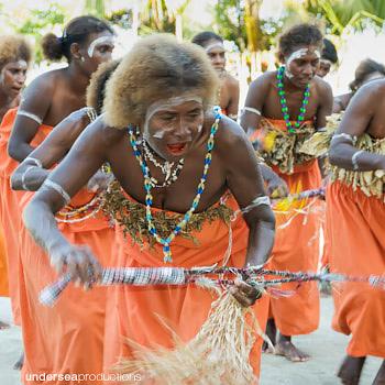 solomon islander women traditional dance